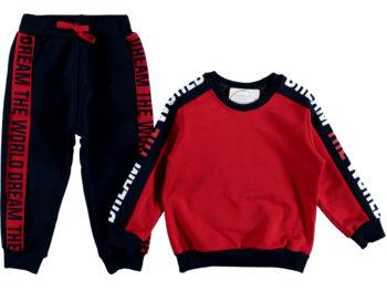 Спортивный костюм красный 309234